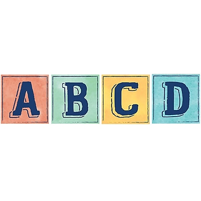 Eureka Creative Teaching Press Confetti Splash Deco Letters Blocks 4