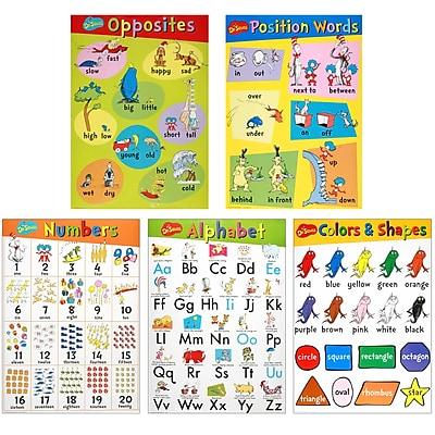 Dr. Seuss Beginning Concepts Bulletin Board Set