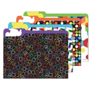"Eureka,Geo Mickey File Folders, 9"" x 11.5"",6 bundles total of 24 folders (EU-866405)"