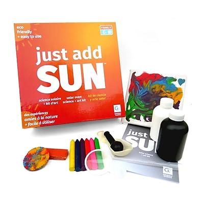 Griddly Games Just Add Sun Solar Science Art Kit, Grade K+ (GRG4000577)