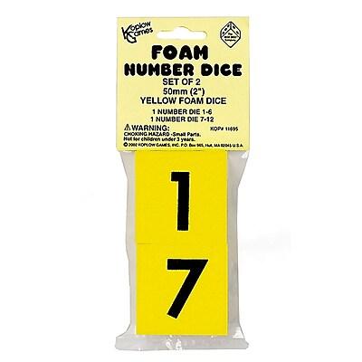 Koplow Games Dice, Foam Dice, 2
