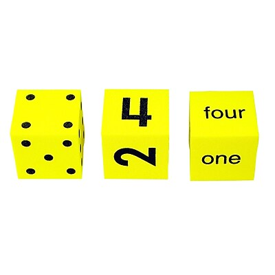 Koplow Games Spot Word Number Dice, 3/ST, 3 ST/BD