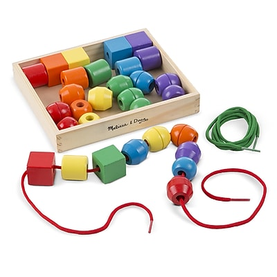 Melissa & Doug® Primary Lacing Beads