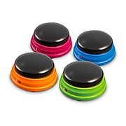 Learning Resources Recordable Answer Buzzers, Set of 4 (LER3769)