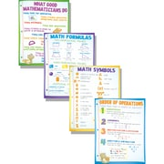 McDonald Publishing Classroom Poster Set, Math Basics