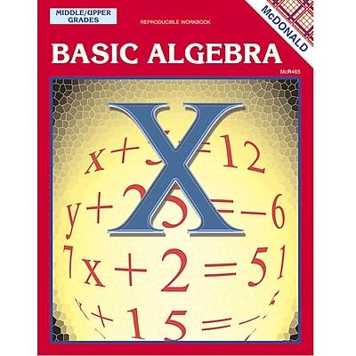 Mcdonald Publishing® Basic Algebra Reproducible Book
