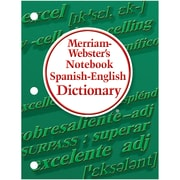 Merriam Webster's Notebook Spanish-English Dictionary