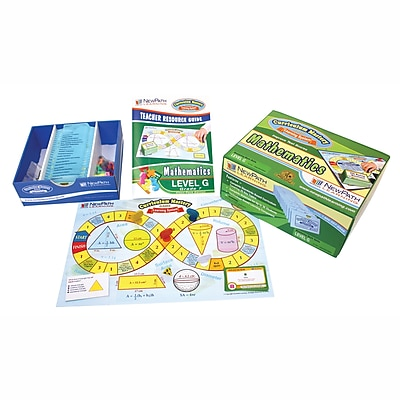 New Path Learning® Mastering Math Skills Games Classpack, Grades 7 (NP-237001)