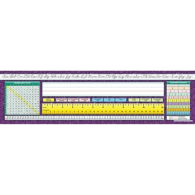 North Star Teacher Resources® 2nd - 6th Grade Desk Name Plate, Intermediate Traditional Cursive (NST9005)