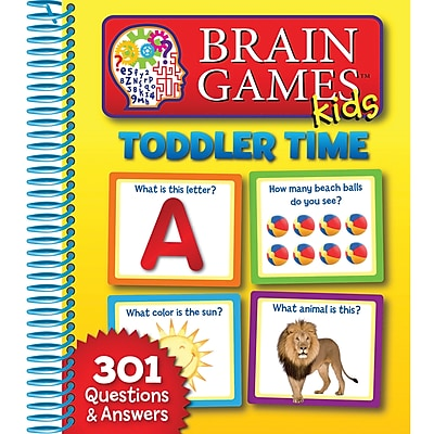 Publications International® Brain Games Kids Toddler Time