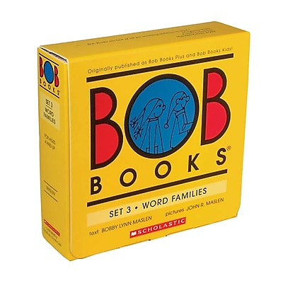 Bob Books, Word Family, Set 3