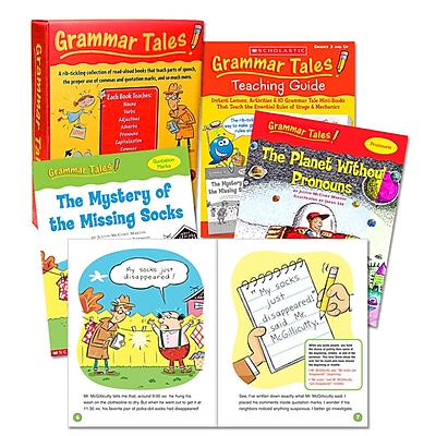 Grammar Tales Box Set Scholastic, Scholastic Teaching Resources Paperback