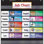 Scholastic Black Class Job Pocket Chart Grades K-5 SC-583864