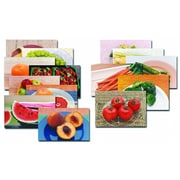 Stages Learning Materials® Fruits & Vegetables Poster Set