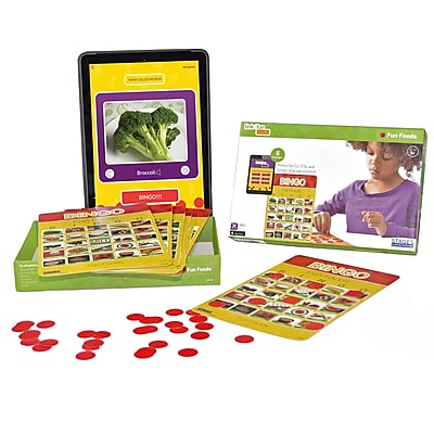 Stages Learning Materials® Fun Foods Bingo