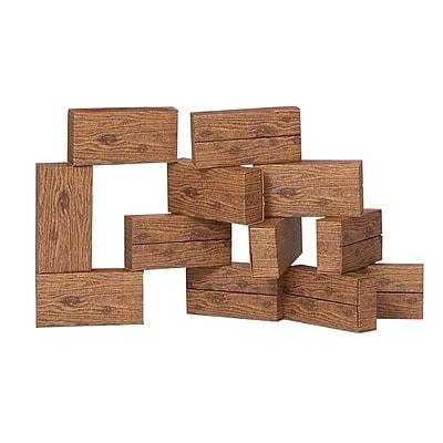 ImagiBRICKS™ Giant Timber Building Block Set, 16 Piece Set