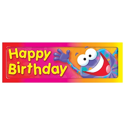 Trend® Bookmarks, Happy Birthday