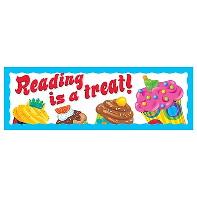 Trend® Reading Is A Treat Bookmarks, 36/Pkg (The Bake Shop™)