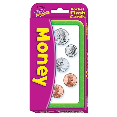 Money Pocket Flash Cards