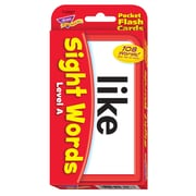 Trend® Pocket Flash Cards, Sight Words Level A
