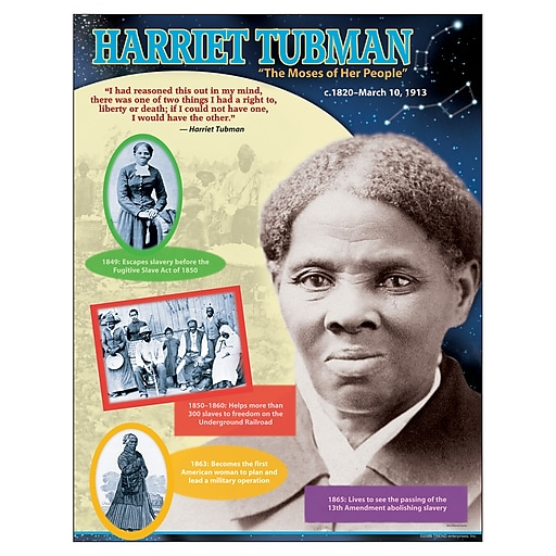 Trend® Harriet Tubman Learning Chart