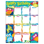 Happy Birthday (Owl-Stars!™) Learning Chart