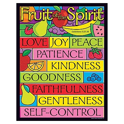 Fruit of the Spirit Learning Chart