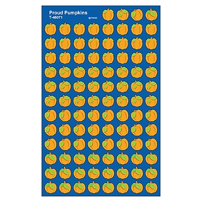 Trend® superShapes Stickers, Proud Pumpkins