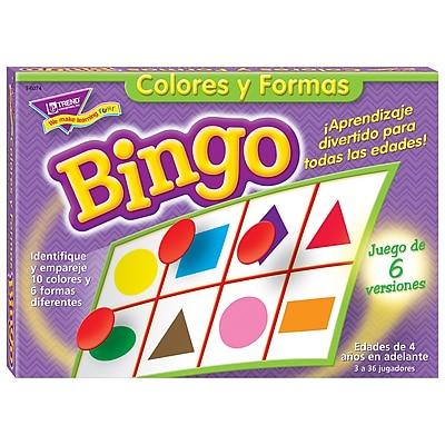 Trend® ESL & ELL Resources, Bingo Games, Colors