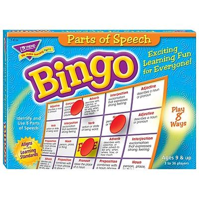 Trend® Bingo Games, Parts of Speech