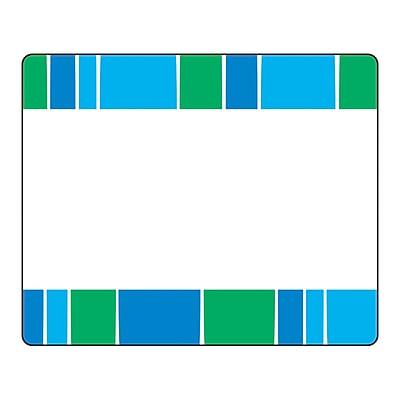 Trend Stripe-Tacular Cool Blue Terrific Labels 2.5