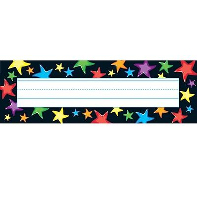 Trend® Desk Toppers® Kindergarten - 4th Grades Name Plate, Gel Stars