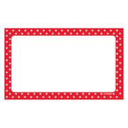 """Trend Polka Dots Terrific Index Cards Blank, 3"""" x 5"""" Unruled, Four Sides75ct, Bundle of 6 total of 450 (T-75002)"""