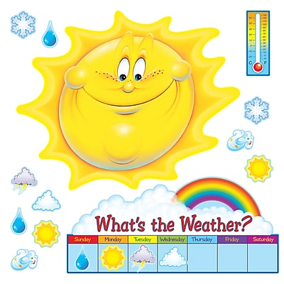 Bulletin Board Sets, What's the Weather?