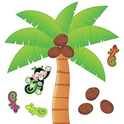 Palm Tree Bulletin Board Set, 27 pieces