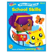 School Skills Wipe-Off® Book, Pre-K & Kindergarten (T-94231)