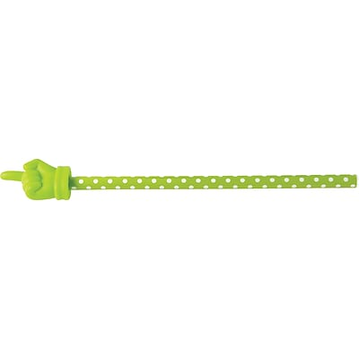 Teacher Created Resources Lime Polka Dots Hand Pointer (TCR20679)