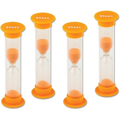 Teacher Created Resources 90 Second Sand Timers, 4 Per Pack (TCR20693)