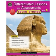 Differentiated Lessons & Assessments, Social Studies, Grade 6