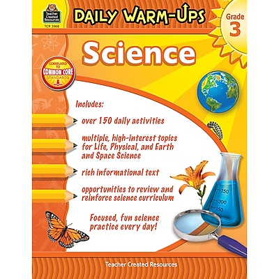 Teacher Created Resources Daily Warm-Ups, Grade 3 (TCR7368)