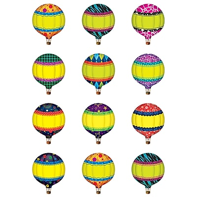 Teacher Created Resources® Hot Air Balloons Mini Accents, 36 Pieces