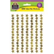 Teacher Created Resources Foil Star Stickers Gold, 686 Mini Stickers Per Pack (TCR5799)