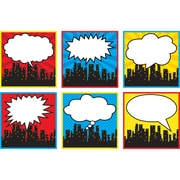 "Teacher Created Resources 8"" x 8"" Superhero Cityscape, Assorted Colors (TCR5832)"