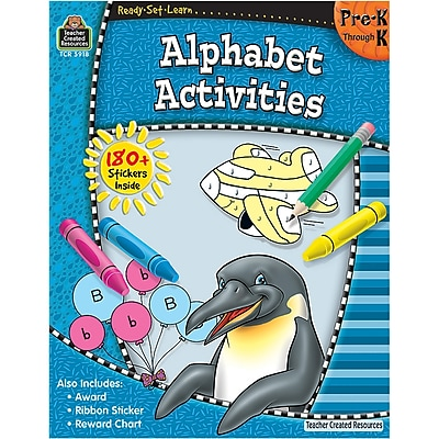 Ready•Set•Learn: Alphabet Activities