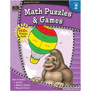 Ready•Set•Learn: Math Puzzles & Games, Grade 2