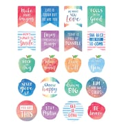 Teacher Created Resources® Watercolor Words to Inspire Planner Stickers, Pack of 120 (TCR8193)
