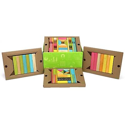 Tegu Magnetic Wooden Tints Classroom Kit, Assorted, 90 Pieces (TEG90PTNT608T)