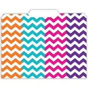 Top Notch Teacher Products File Folder, Chevron, 12/Pack