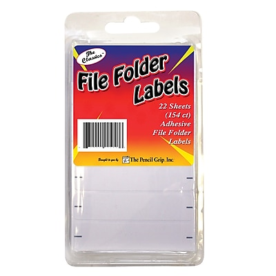 The Pencil Grip File Folder Labels 154ct Clamshell, 3