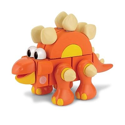 Velcro Foam Brand Blocks Stegosaurus, Assorted, 29 Pieces (VEC70194)